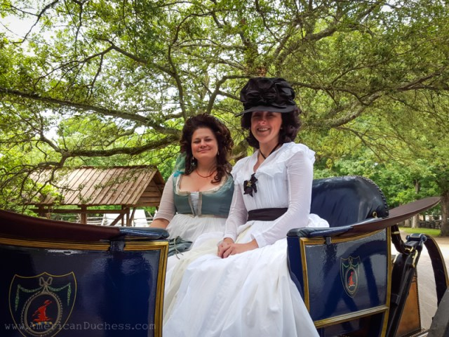 Carriage Ride in Colonial Williamsburg - American Duchess