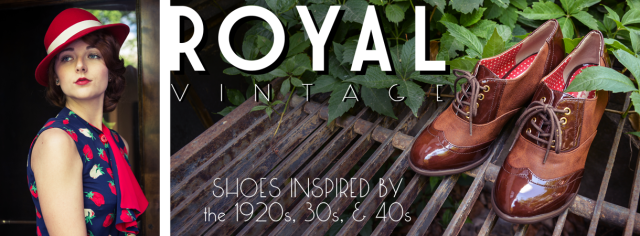 Royal Vintage Shoes - Shop for 1920s, 1930s, and 1940s Style Footwear