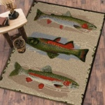 "Trout Creek 4"" x 5"" Rug"