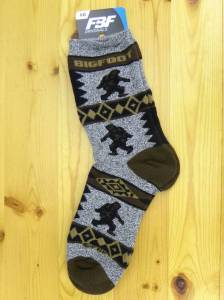 Bigfoot Blanket Socks