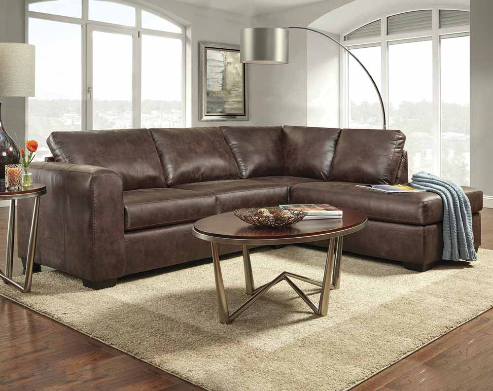 the top modern faux leather sectional