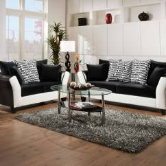 Black White Sofa Set How To Get Rid Of Old Dublin And Best With