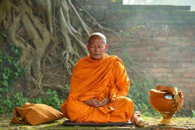 amn academy meditation buddhist monk