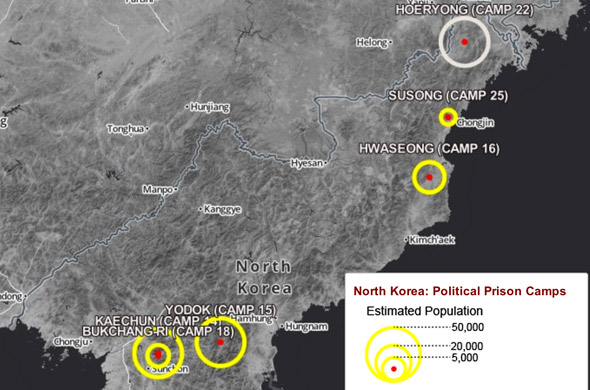 Stories from survivors reveal horrors of prisons camps in North Korea