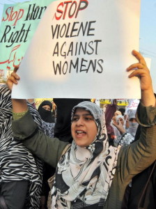 """Hundreds of women and girls are subject to """"honor"""" killings in Pakistan every year and that number runs into the thousands worldwide (Photo Credit: Arif Ali/AFP/Getty Images)."""