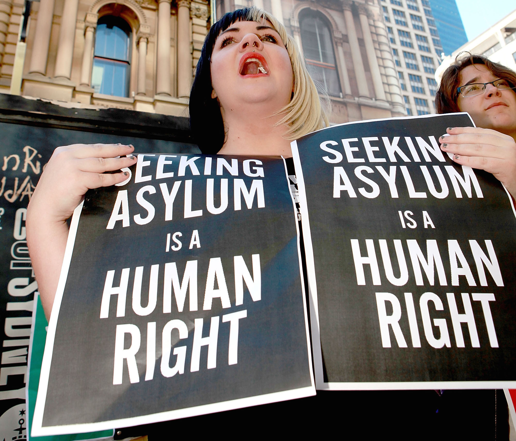 <> on July 20, 2013 in Sydney, Australia. The Australian government yesterday announced all future boat arrivals by asylum seekers will be sent to Papua New Guinea for processing and settlement. The announcement marks a major shift in policy direction by the centre-left Australian Labor Party government.