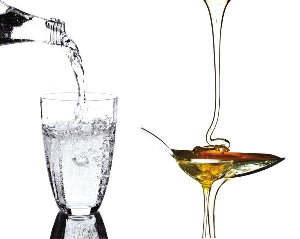 Kinematic Viscosity-Oil vs Honey