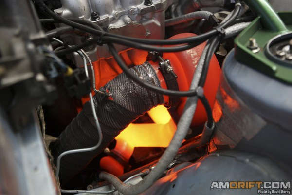 Turbo Glows Red Hot - synthetic vs. conventional oil