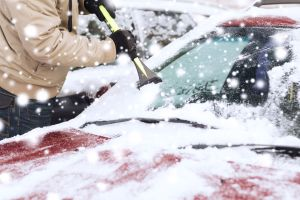 Snowy Car - Winter Vehicle Preparedness