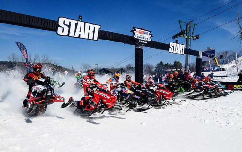 Start Line amsoil snowcross Geneva 2017