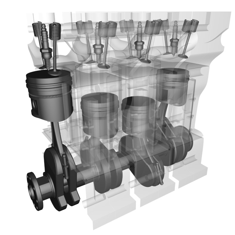 Engine valvetrain