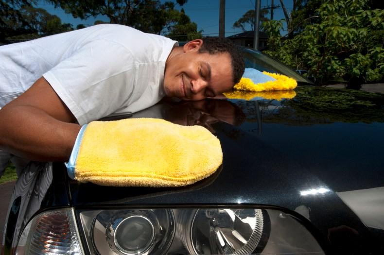 Wash car before storage