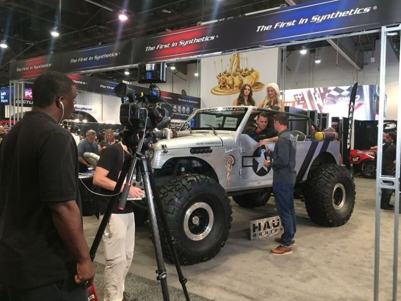 amsoil sema booth