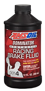 Synthetic DOT 4 racing brake fluid