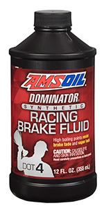 Synthetic DOT 4 racing brake fluid