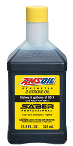 AMSOIL SABER Professional Synthetic Two-Stroke Oil