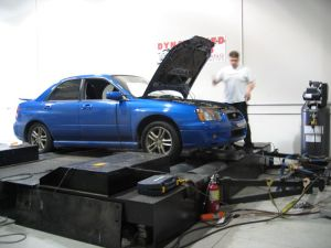 blobeye wrx on the dyno