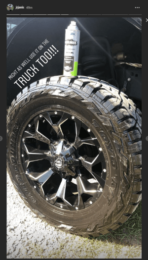 Clean Mud off Turck Tires-Mudslinger