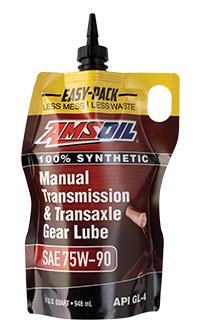 AMSOIL manual transmission fluid.