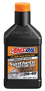 AMSOIL Signature Series Synthetic Motor Oil 0W-40