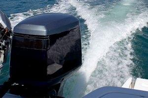 Boat motor.