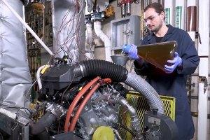 Sequence IIIH motor oil test.
