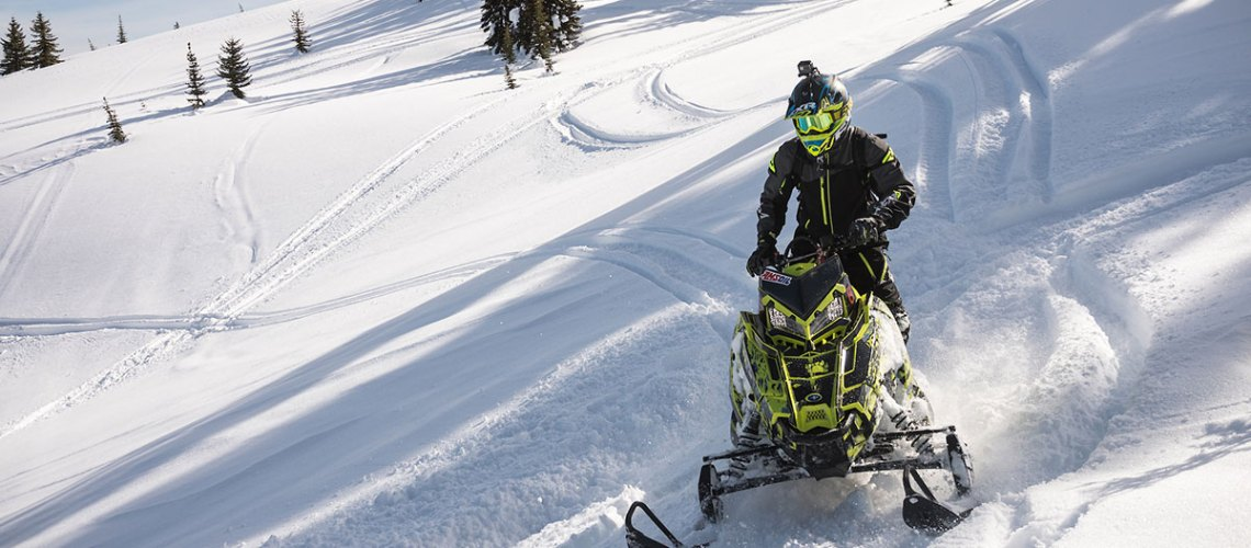 Mountain snowmobile