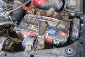 Charging a car batter