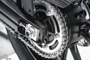 Examine used motorcycle chain sprocket before buying.