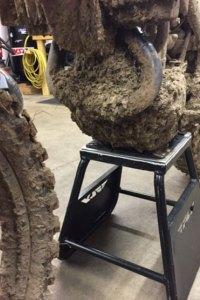 How to wash a dirt bike.