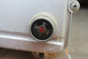 Air compressor sigh glass.