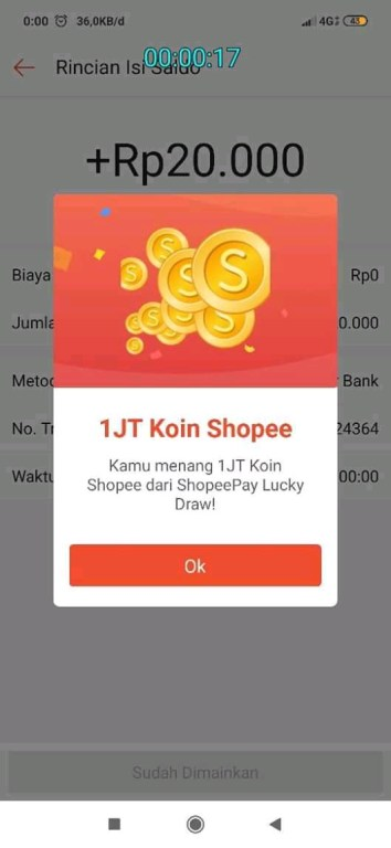 tips lucky draw shopee