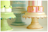 Custom Cake Stands by Clara French