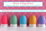 Pantone-Inspired Egg Contest Winner {Egg-Cellent Easter Inspiration} With Egg Fashion Show