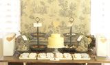 Toile Inspired Baby Shower