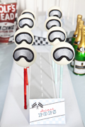 Vintage Car Racing Guest Dessert Feature