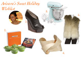 Arisara's Sweet Holiday Wishlist