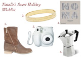 Natalie's Sweet Holiday Wish List