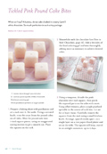 Tickled Pink Pound Cake Bites for National Pound Cake Day {Sneak Peek of Sweet Designs Book}