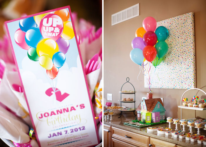 Up inspired party idea - Disney
