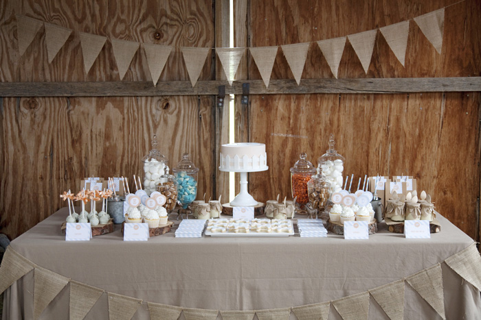 Barn Themed Dessert Table