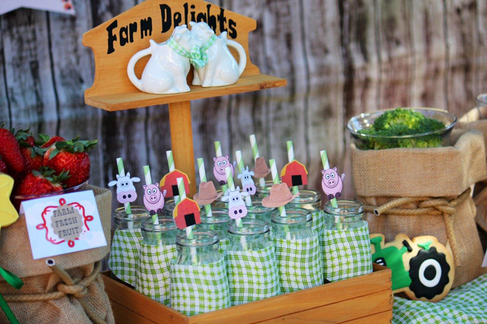 Farmyard Dessert Table