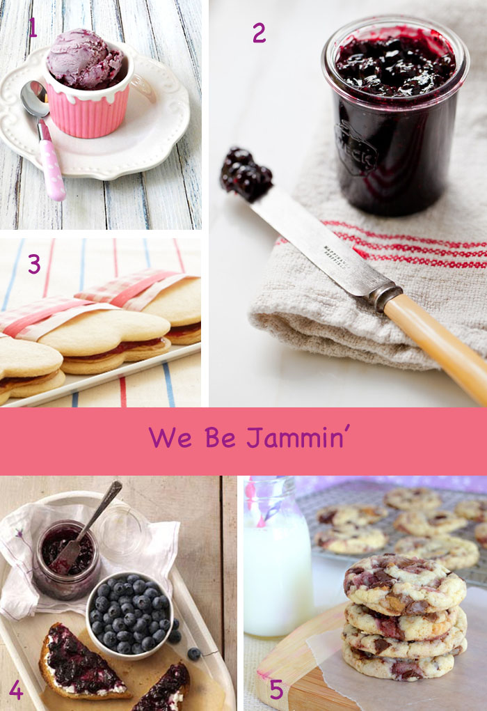 Jam and Jelly filled desserts
