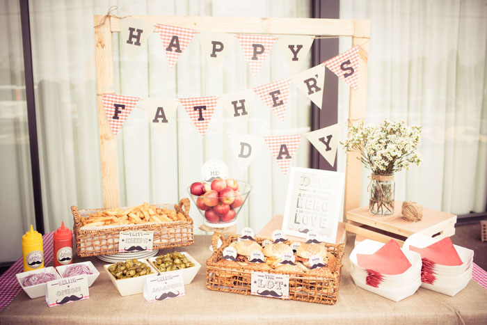 Father's Day Dessert Table and Party Inspiration
