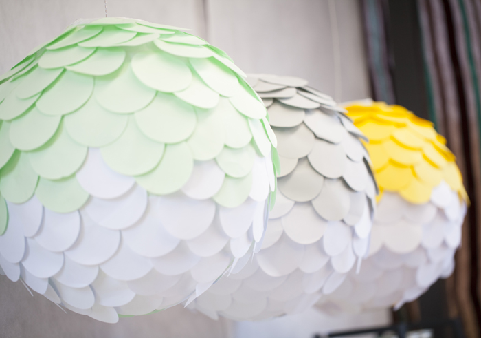 Pantone Inspired Art Party for Kids Paper Lanterns