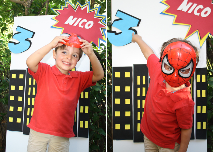 Superhero inspired birthday party - Superhero party printables