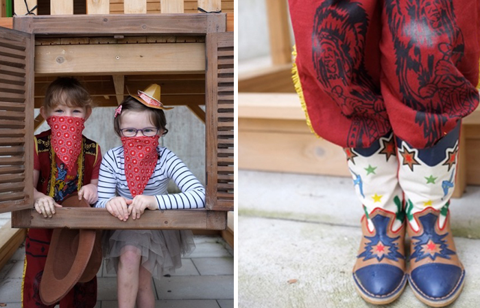 Western Kids Pary Ideas Props and Photo booth