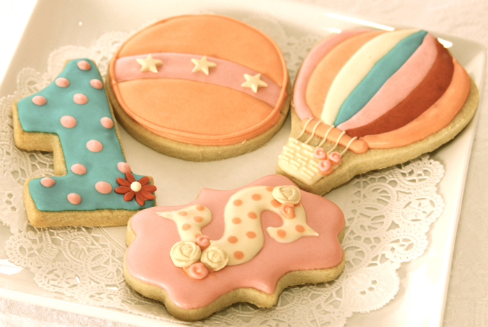 Circus Inspired Sugar Cookies