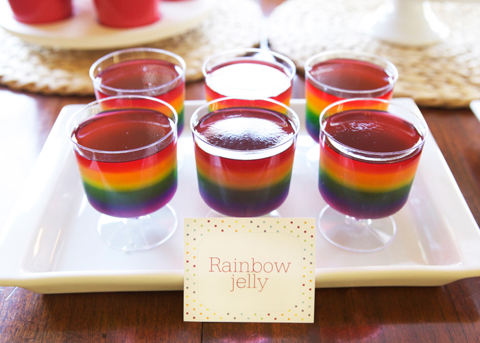 Raimbow Jelly for Rainbow Party