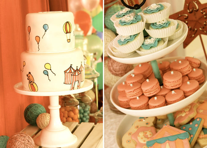 Vintage Carnival Themed Party